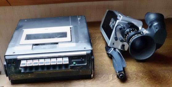 Annonce occasion, vente ou achat 'ANCIENNE CAMERA VHS+LECTEUR'