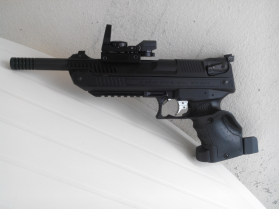 Pistolet Zokari 5.5mm + 4.5mm