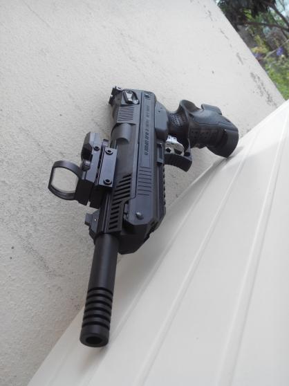 Pistolet Zokari 5.5mm + 4.5mm - Photo 2