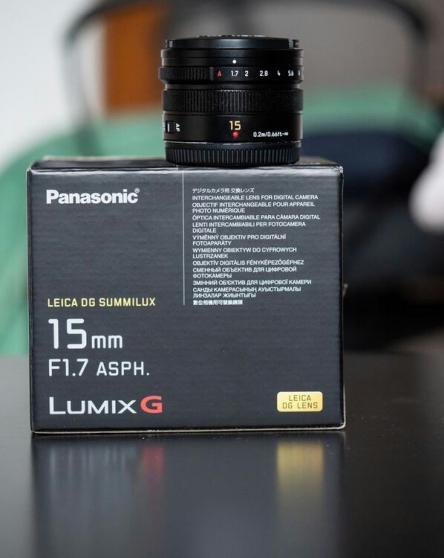 Panasonic Leica 15mm 1.7