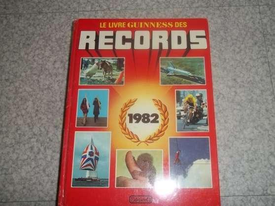 Annonce occasion, vente ou achat 'guiness des records'