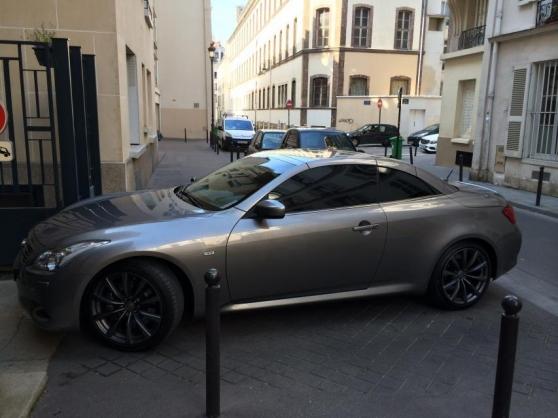 Annonce occasion, vente ou achat 'Infiniti G cabrio 37 gt premium at occas'