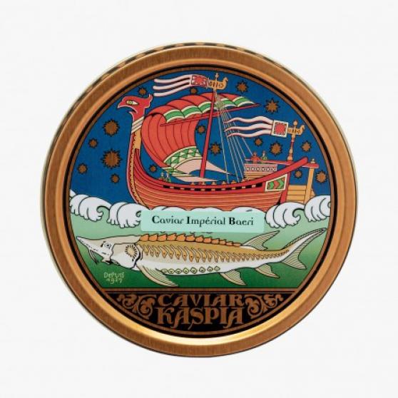 Annonce occasion, vente ou achat 'Caviar Kaspia Impérial Baeri 30 grammes'