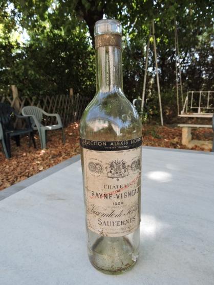 Annonce occasion, vente ou achat 'Etiquette Sauternes Chateau de Rayne-Vig'