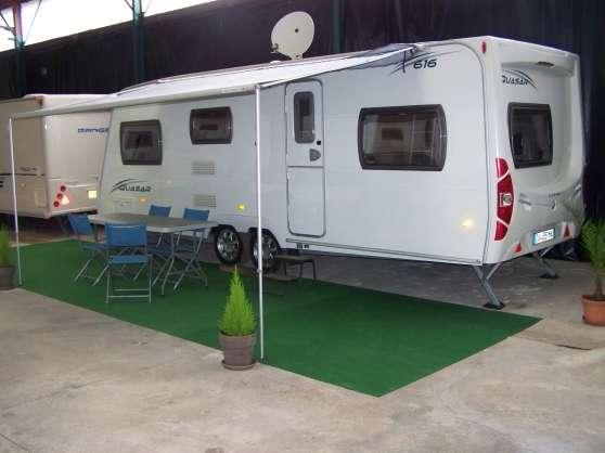 Rare caravane lunar 5 places etat neuf - Caravane 5 places lits superposes ...