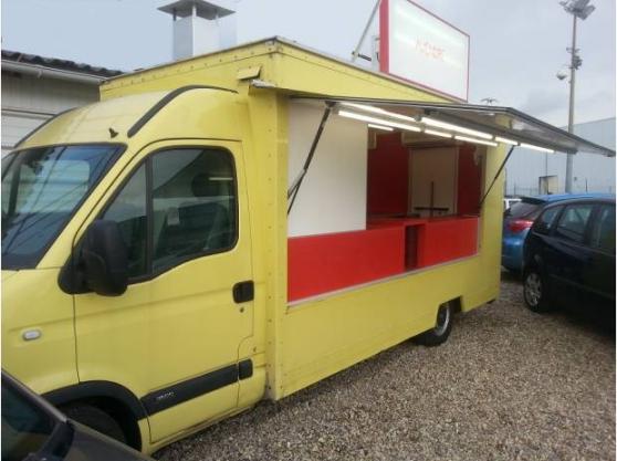 A vendre camion pizza opel movano