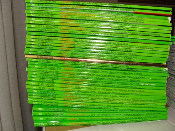 Annonce occasion, vente ou achat 'Magazines Géo'