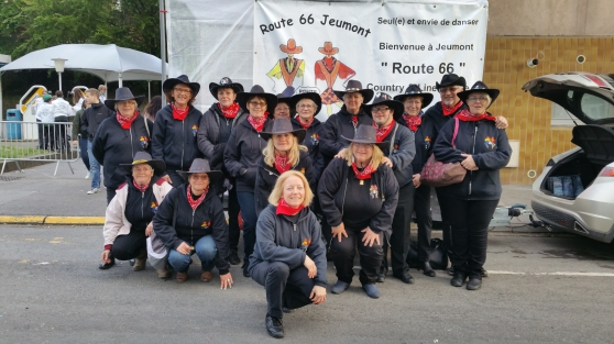 "Danse Country ""Route 66"""