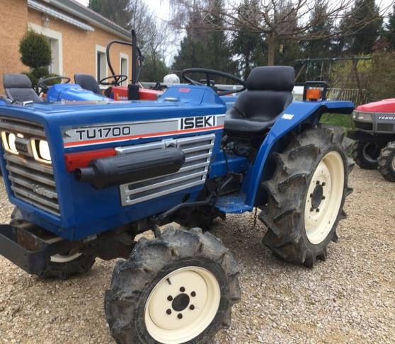 micro tracteur iseki de 23cv en 4 roues - Annonce gratuite marche.fr