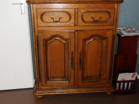 meuble chene 2 portes 2 tiroirs - urgent - Annonce gratuite marche.fr