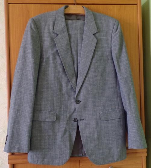 Annonce occasion, vente ou achat 'COSTUME GRIS BLEU'