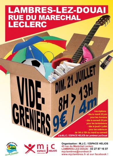 Braderie Lambres-lez-Douai