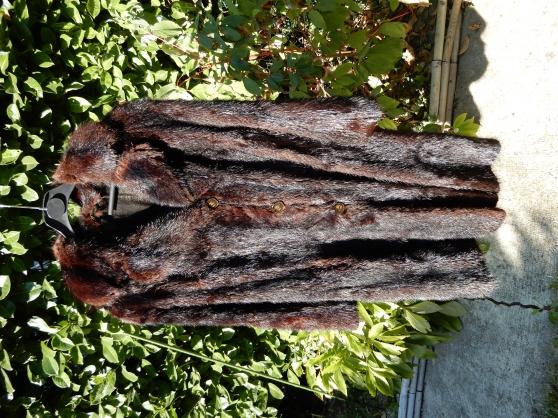 Manteau de fourrure vintage