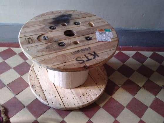 touret bois table basse à gisors meubles - dÉcoration tables basse