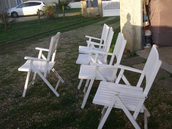 Annonce occasion, vente ou achat 'fauteuils bois de jardin'
