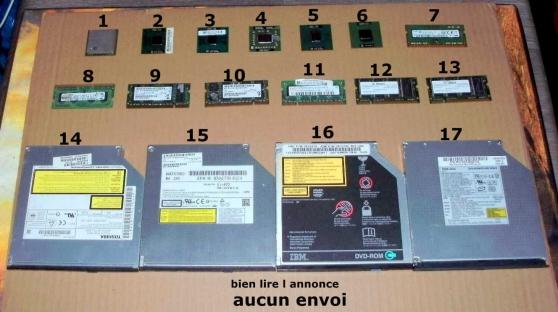 lot 01-occasion pieces informatiques