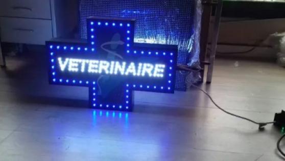 Annonce occasion, vente ou achat 'ENSEIGNELED DOUBLE FACES Vétérinaire'