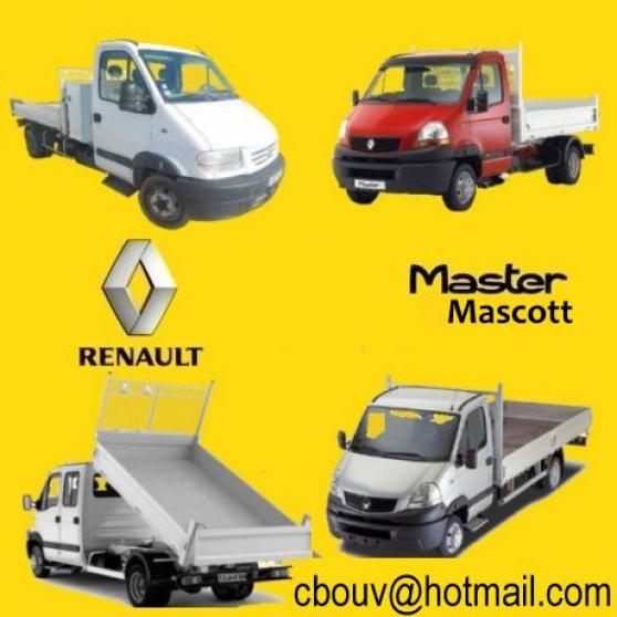 Annonce occasion, vente ou achat 'Revue technique atelier Renault Mascott'