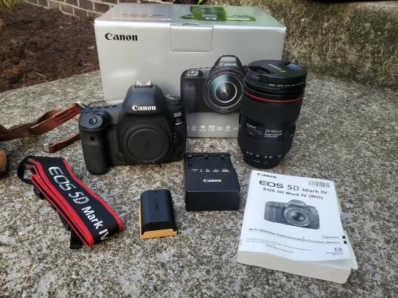 Canon eos 5D mark IV + 24-105mm