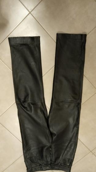 pantalon cuir agneaux taille 38