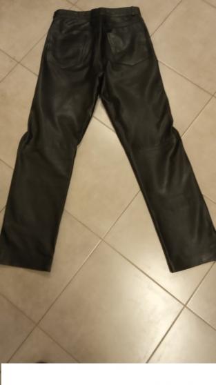pantalon cuir agneaux taille 38 - Photo 2