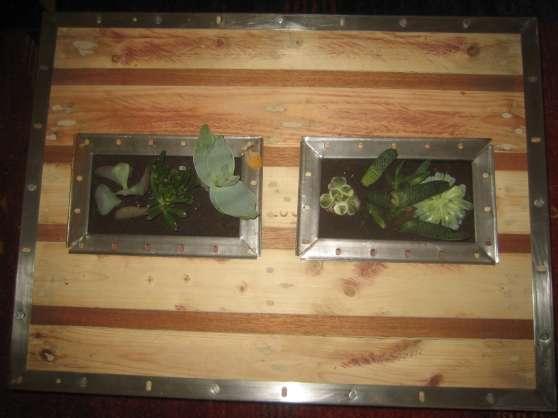 Table Basse Palette Sur Roulettes Bois Cadaujac Meubles D Coration Tables Basse Cadaujac