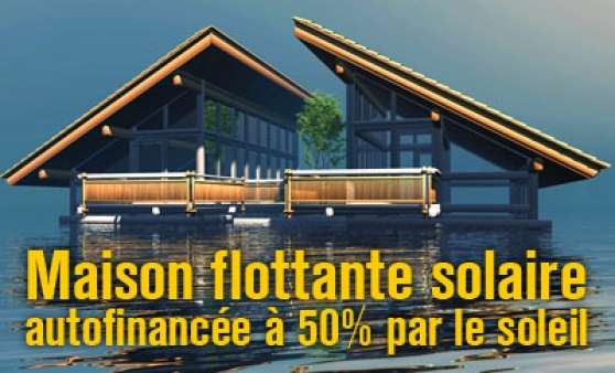 maison flottante de luxe financ e 50 immobilier a vendre bateaux logements paris reference. Black Bedroom Furniture Sets. Home Design Ideas