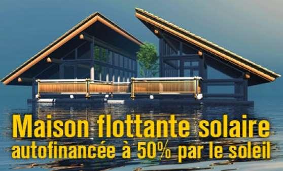 maison flottante de luxe financ e 50 immobilier a. Black Bedroom Furniture Sets. Home Design Ideas