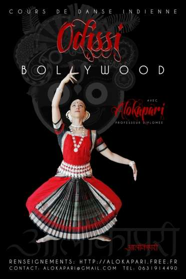 cours danse indienne odissi / bollywood