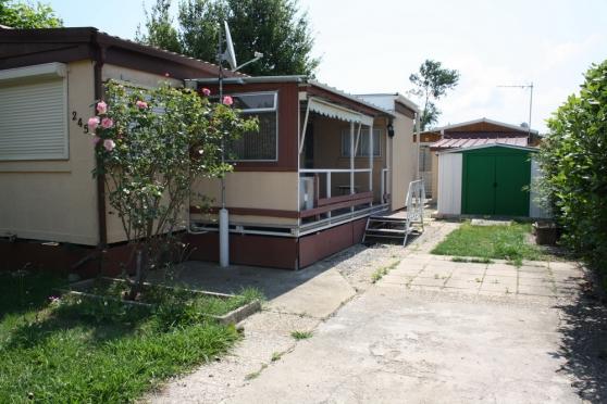 Vend mobile home immobilier a vendre mobil home chalets grimaud reference imm mob ven - Chalet de jardin occasion a vendre ...