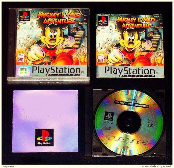 Mickey's Wild Adventure -Playstation 1