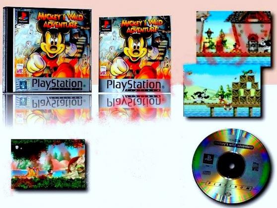 Mickey\'s Wild Adventure -Playstation 1 - Photo 3