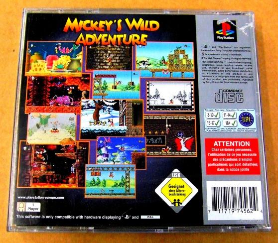 Mickey\'s Wild Adventure -Playstation 1 - Photo 4