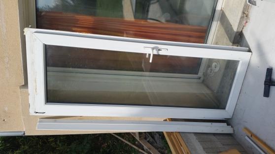 Porte vitr e double vitrage pvc blanc mat riaux de for Achat fenetre double vitrage