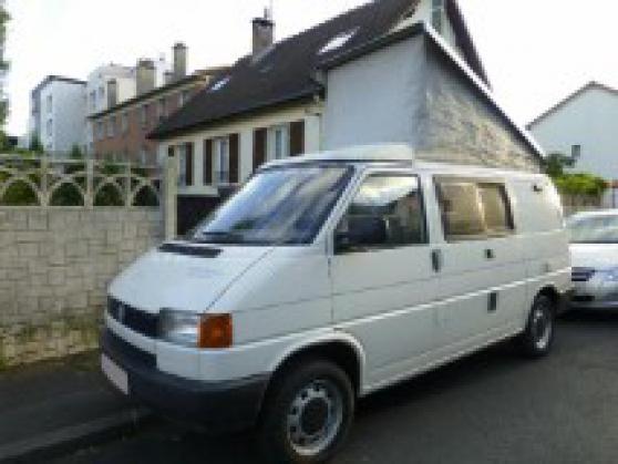 VW van T4 2.4D 4 places aménagé camping