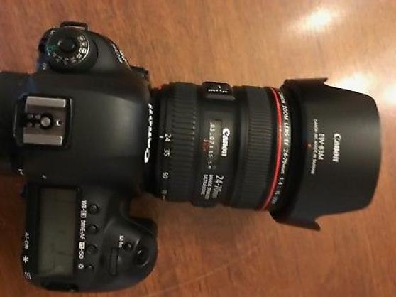 Canon EOS 5D Mark iv avec objectif