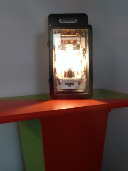Lampe industrielle steampunk