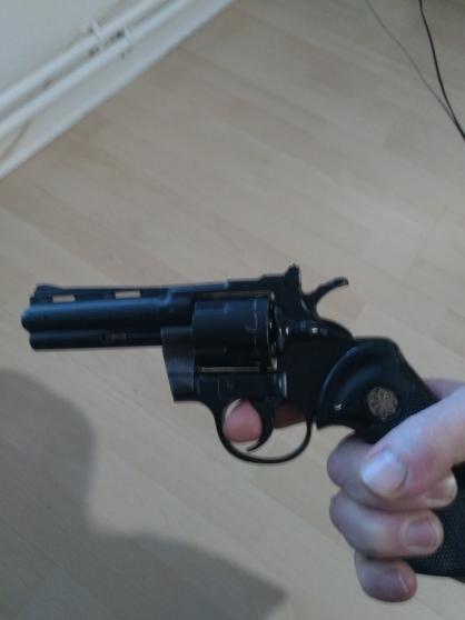 revolver à blanc et à grenaille 22 LR - Photo 2
