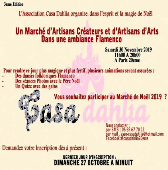 Annonce occasion, vente ou achat 'Marché de Noël du 20eme (3eme Edition)'