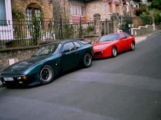 porsche 944 modele americain targa