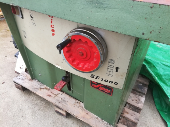 Toupie SICAR SF1000