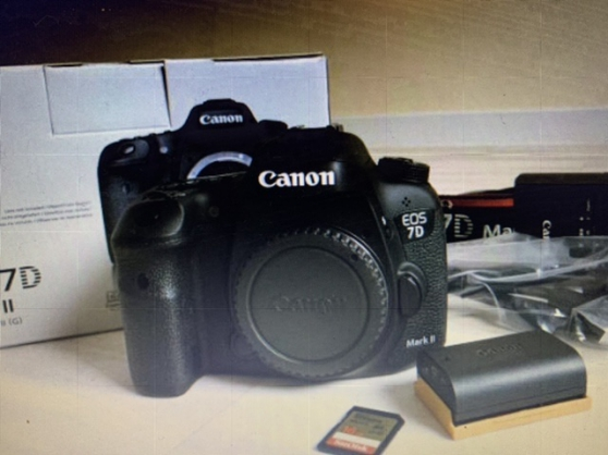 Annonce occasion, vente ou achat 'Canon 7D Mark 2 comme neuf'