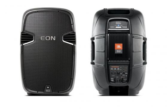 2 enceintes pro JBL EON 515 XT avec sac