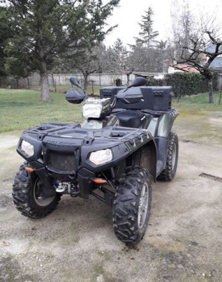 Quad 550 e sportsman
