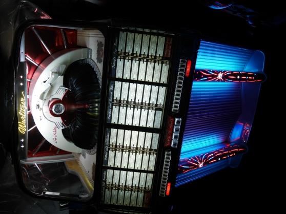jukebox wurlitzer 1800 de 1955