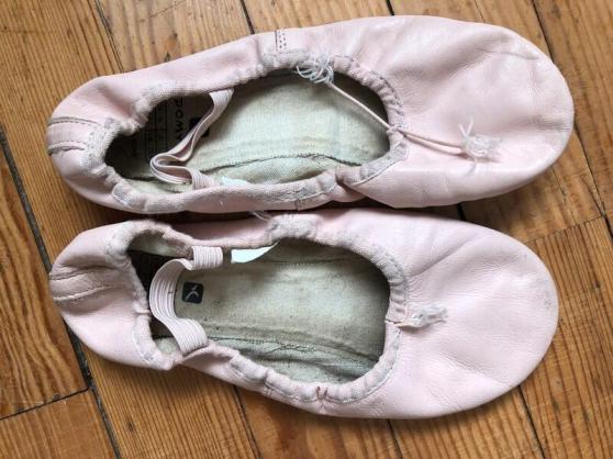 chaussons de danse pour fetichiste