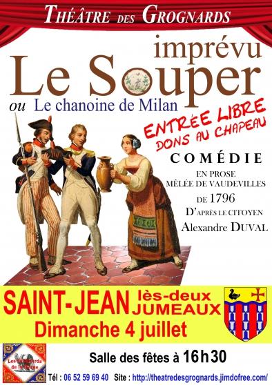 Annonce occasion, vente ou achat 'Le Souper imprévu'