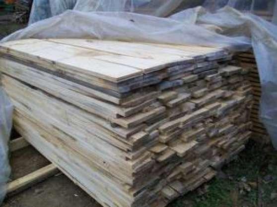 de 3 m3 de planches de peuplier sec MATÉRIAUX DE CONSTRUCTION BOIS  ~ Bois De Peuplier