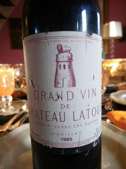 chateau Latour 1985