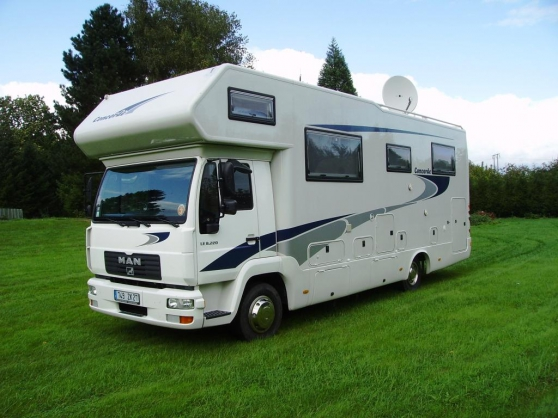 concorde cruiser sur man 6 cyl caravanes camping car camping car courb pine reference car. Black Bedroom Furniture Sets. Home Design Ideas